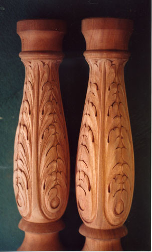 Furniture carved by charles oldham